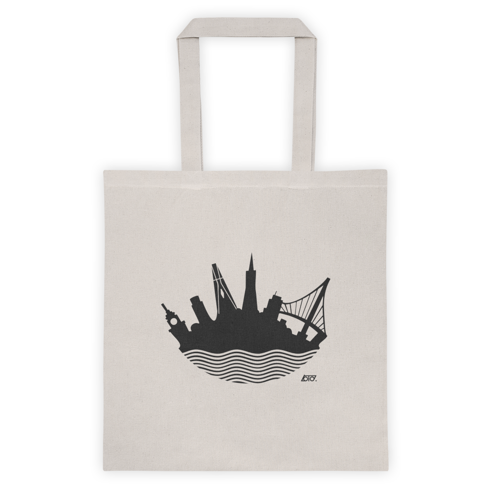 SF Loto Lux Skyline Tote bag