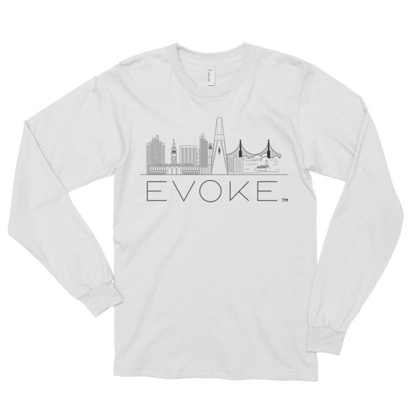 Evoke SF Skyline Long sleeve t-shirt (unisex)
