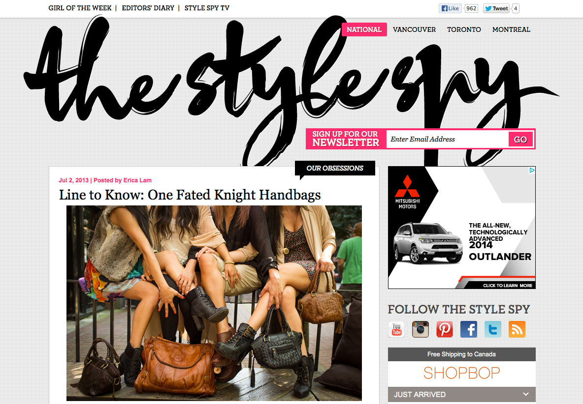 OFK on The Style Spy