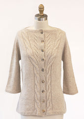 Something Cardigan Made with Hikoo Kenzie - Available at Creative Ewe