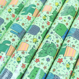 Turtle's Soup - Cactus Cats Gift Wrap Rolls - Creative Ewe