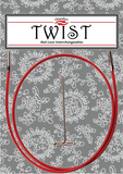 ChiaoGoo Twist Red Cables - Creative Ewe