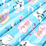 Turtle's Soup - Animal Pool Party Gift Wrap Rolls - Creative Ewe