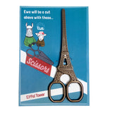 Eiffel Tower Scissors - Creative Ewe