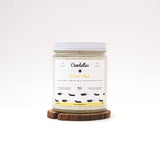 Candelles Candles - BEST SELLER - Chai Tea Scented Soy Candle - 9oz. - Creative Ewe