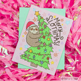 Turtle's Soup - Merry Slothmas Christmas Card - Creative Ewe