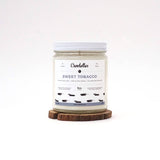 Candelles Candles - BEST SELLER - Sweet Tobacco Scented Soy Candle - 9oz. - Creative Ewe