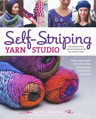Self-Striping Yarn Studio by Carol J. Sulcoski