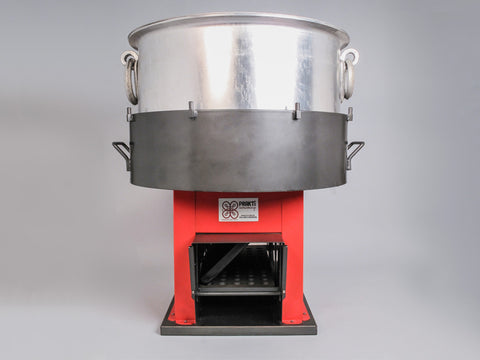 Orca, extra large wood burning stove