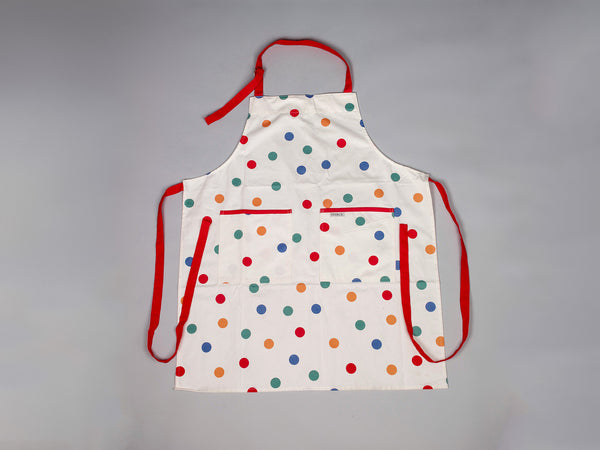 Children's multi spotted apron by Sterck