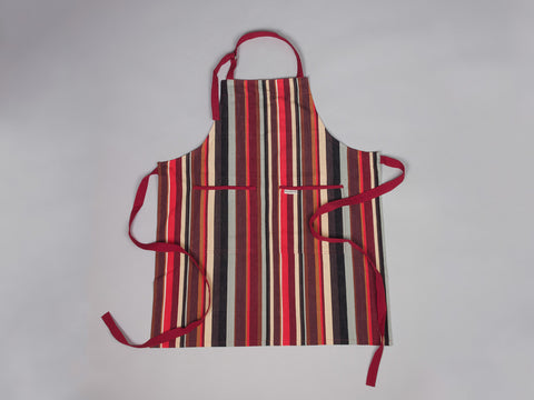 Rainbow Stripe Larvotto standard full apron by Sterck