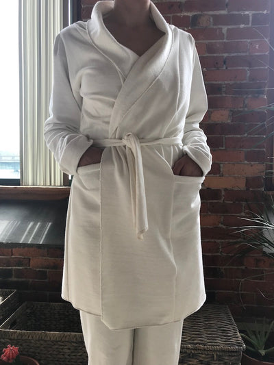 Long Sleeve Fleece Wrap