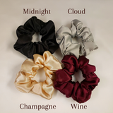Satin Scrunchies - 3 Pack Regular