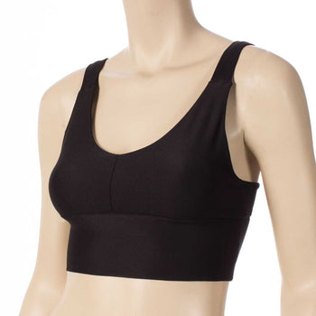 Work Out Top/ Black Top/ Fitness Top/ Pole Top by HeyHeyandco