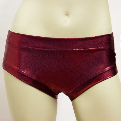 Booty Short- Burgundy Mystique
