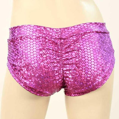 HeyHey and Co Fuchsia Mermaid Booty Short