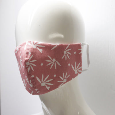 Mask- Coral and White