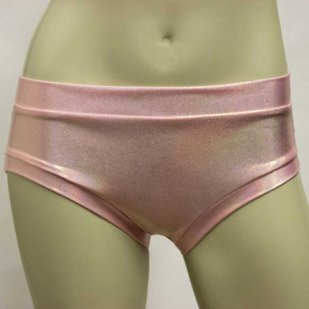 Booty Short- Rose Gold Mystique