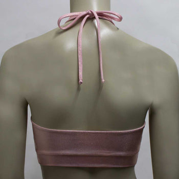 Halter Top- Rose Gold Mystique