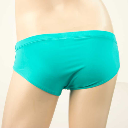 Men's Swim Brief - Turquoise Green - HeyHey & Co