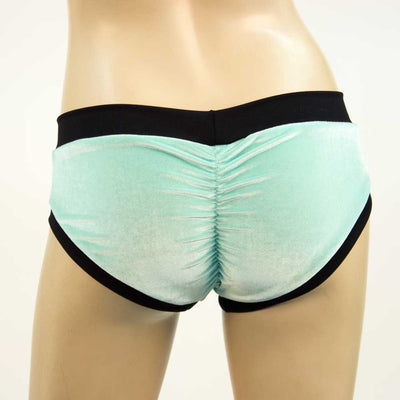 Mint Velvet booty short with black bands from heyheyandco