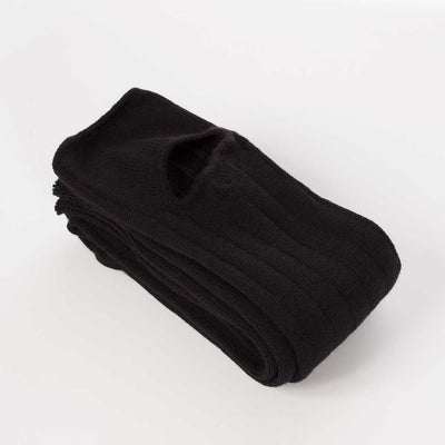 Leg Warmers- Black Woolly - HeyHey & Co