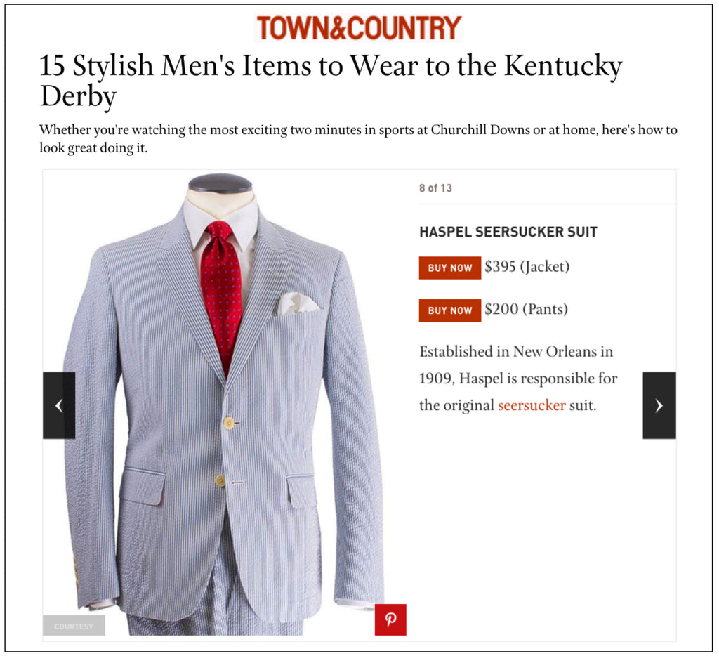 Haspel wins at the Kentucky Derby | TOWNANDCOUNTRYMAG.COM | MARCH 2018