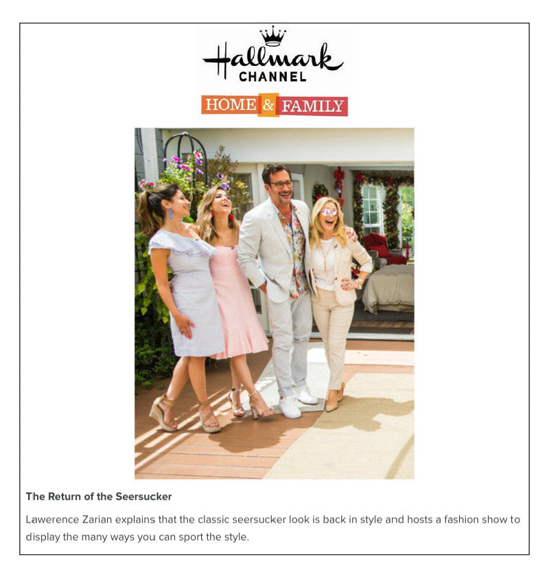 HALLMARK CHANNEL HOME & FAMILY - MAY 2017