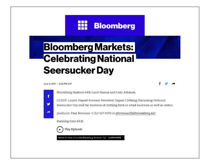 WWW.BLOOMBERG.COM - JUNE 2017