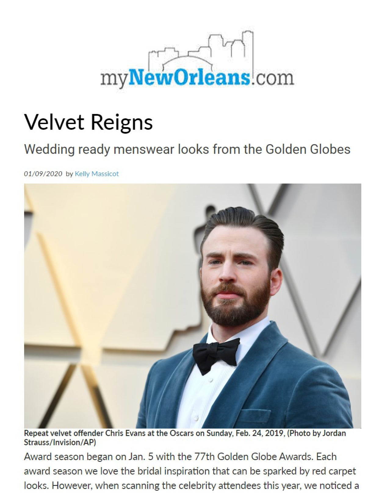 Velvet Reigns | MYNEWORLEANS.COM | JANUARY 2020