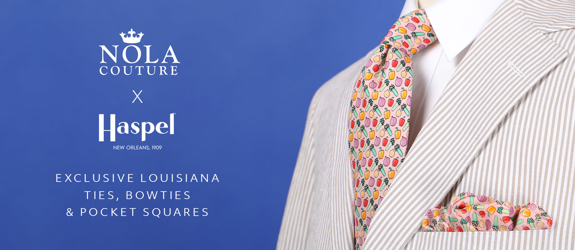 Limited Edition Haspel x NOLA Couture Exclusive Collaboration