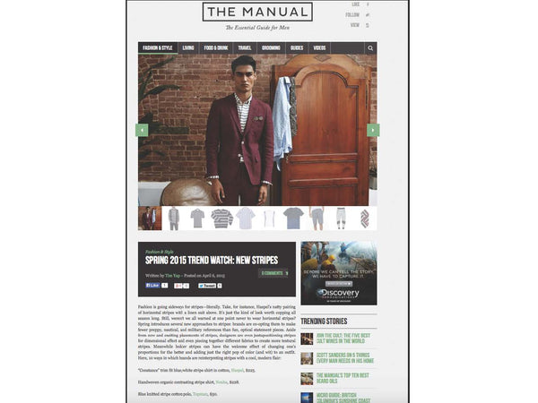 themanual.com featuring Haspel on Spring Watch