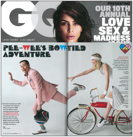 Pee-wee Herman and Haspel via GQ.com