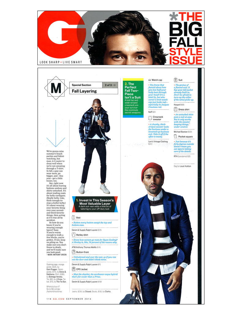 GQ features Haspel in fall layers