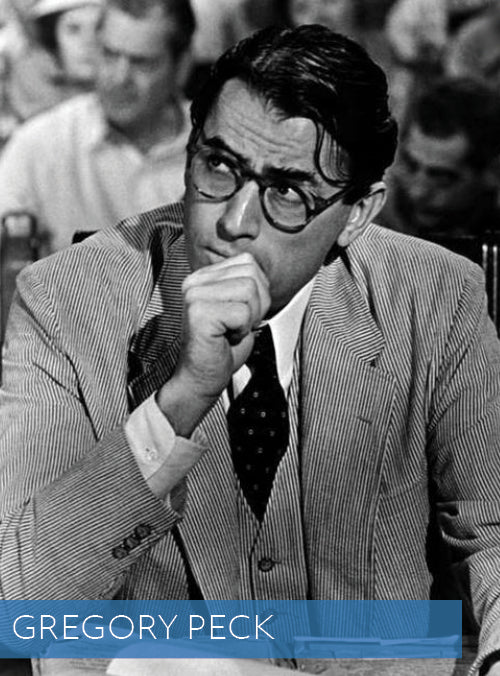 Gregory Peck in Haspel Seersucker