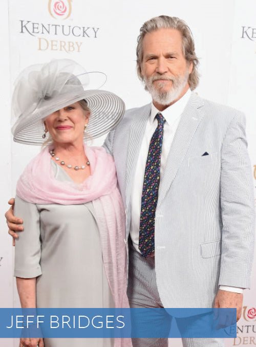 Jeff Bridges in Haspel Seersucker