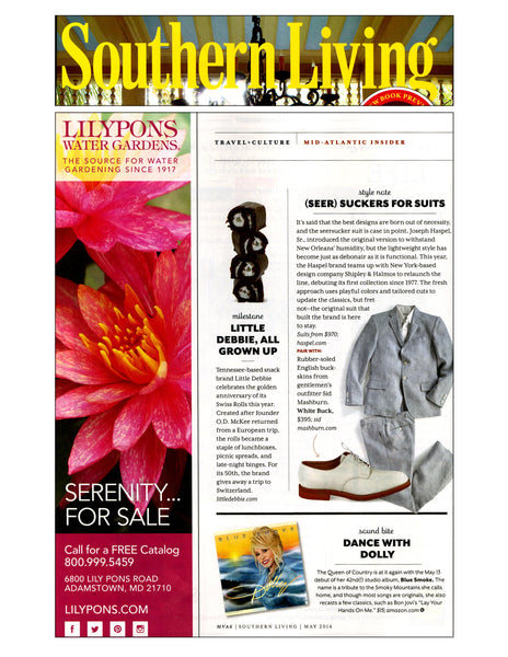 Southern Living features Haspel seersucker suits