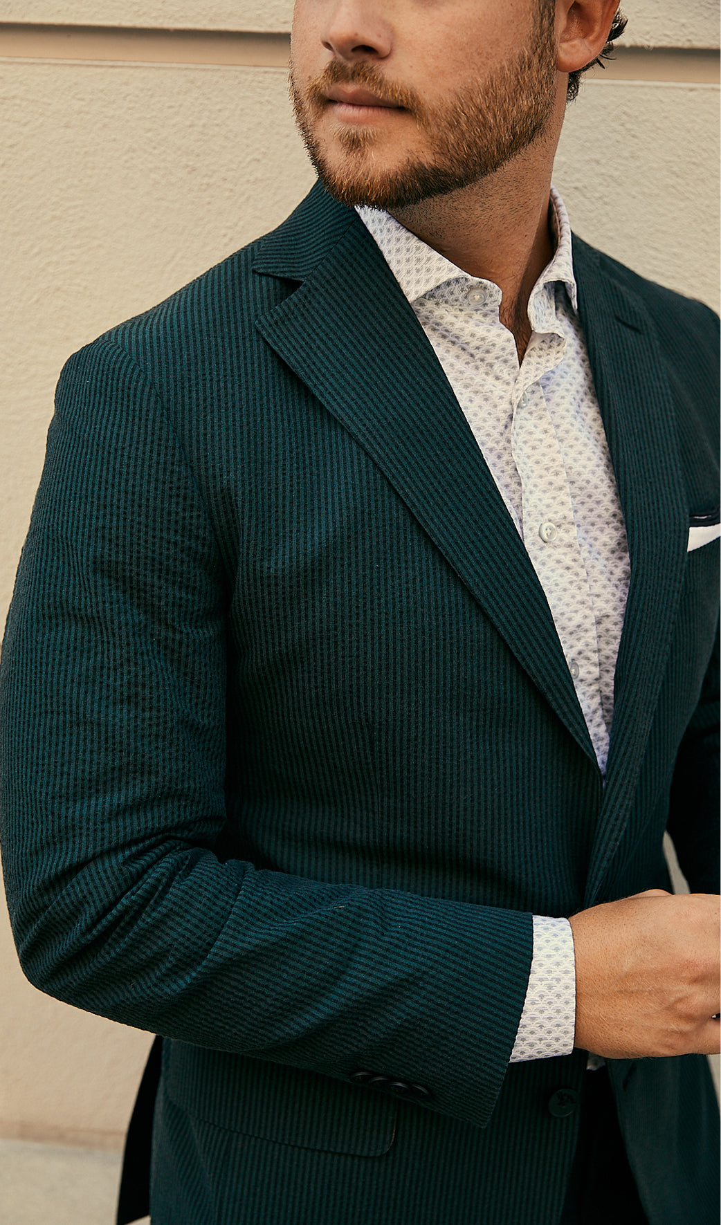 Clothing meant for a good time. Haspel is the original seersucker suit company. Hot weather striped cotton suits.