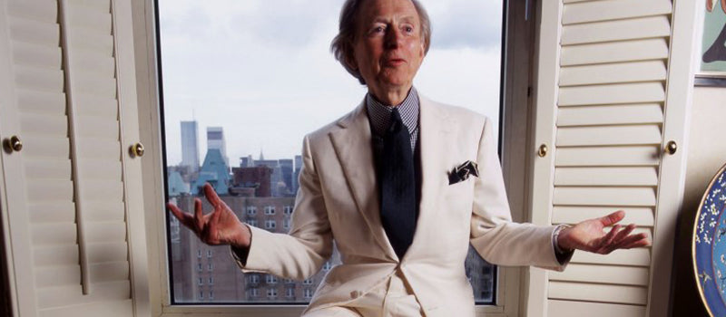 Tom Wolfe's iconic white suit