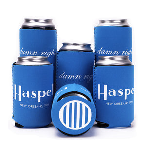 Set of 6 Haspel Koozies
