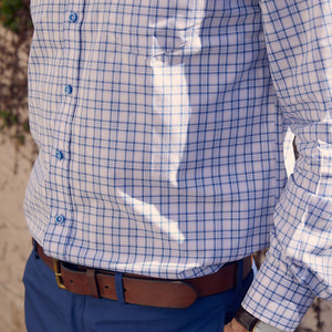 Franklin Sky Blue Plaid