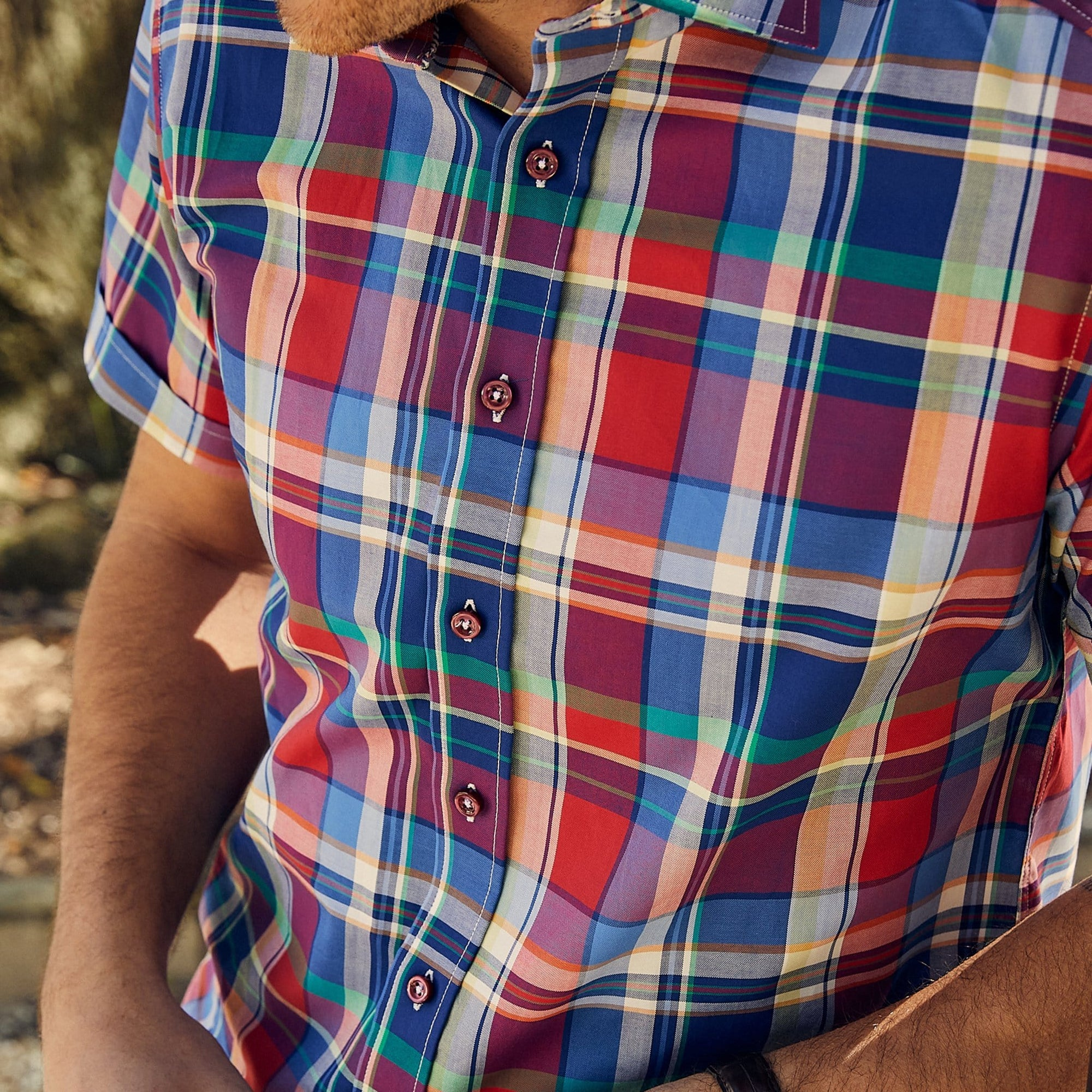 Nicholson BBQ Plaid - Haspel Clothing