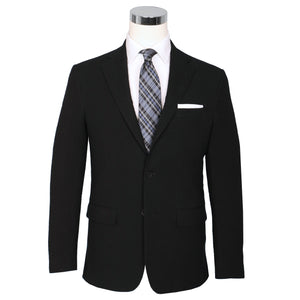 Black Pepper Seersucker Stretch Sport Coat