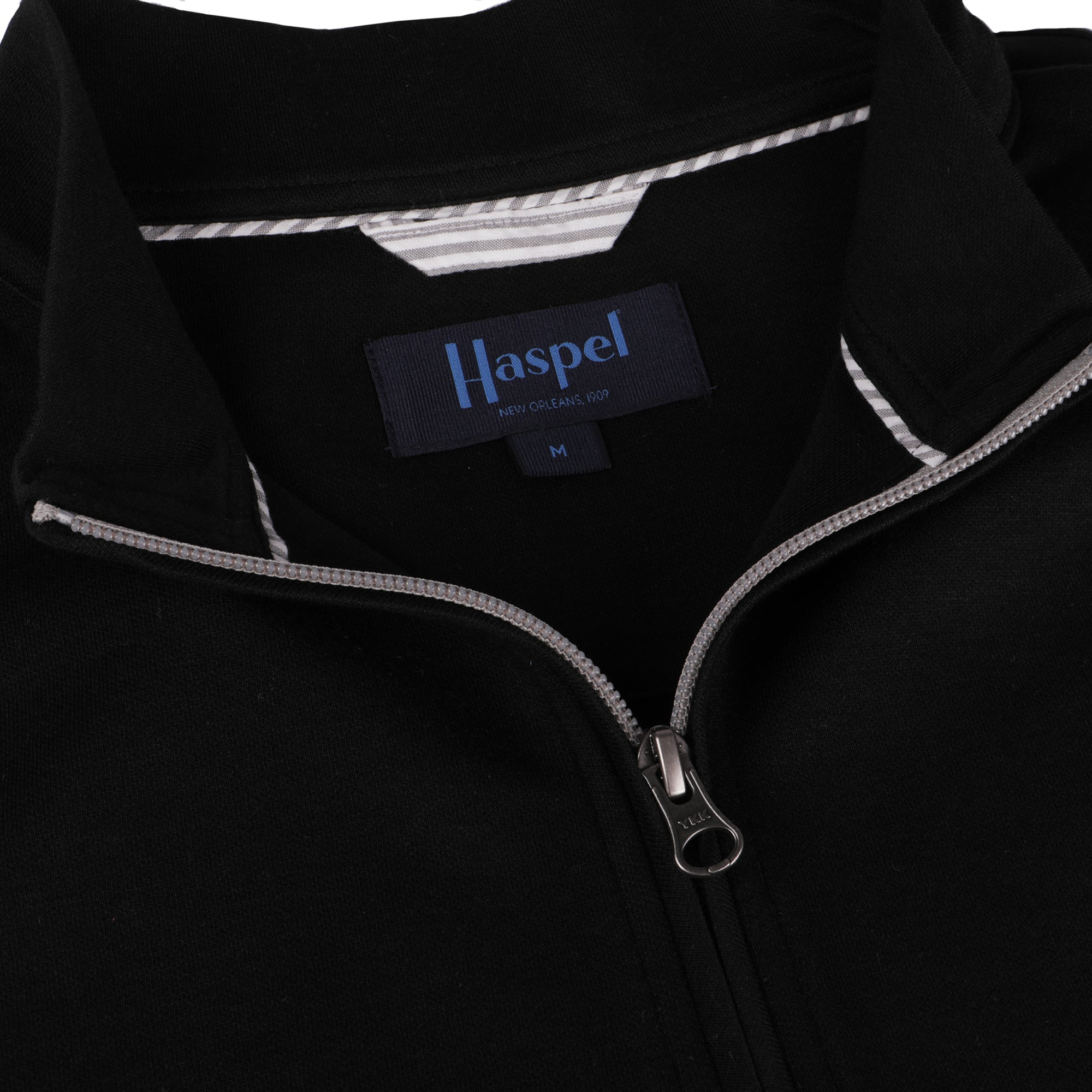 Joseph Solid Black Quarter Zip