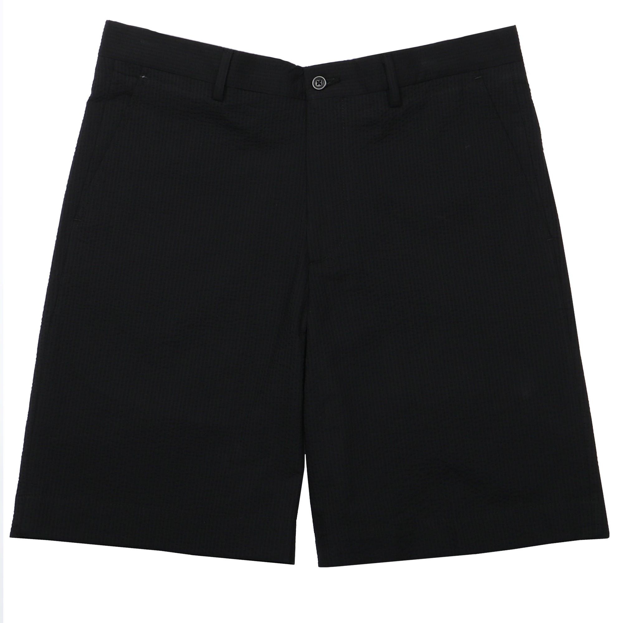 Felicity Black Seersucker Short