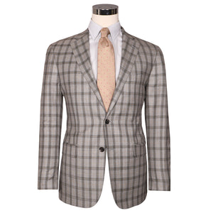 Audubon Light Grey Windowpane
