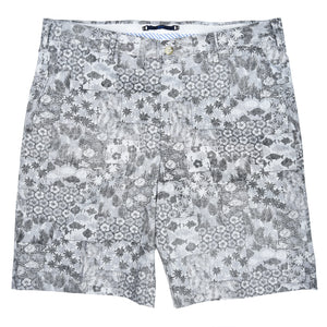 Felicity Black & Grey Jungle Print Short