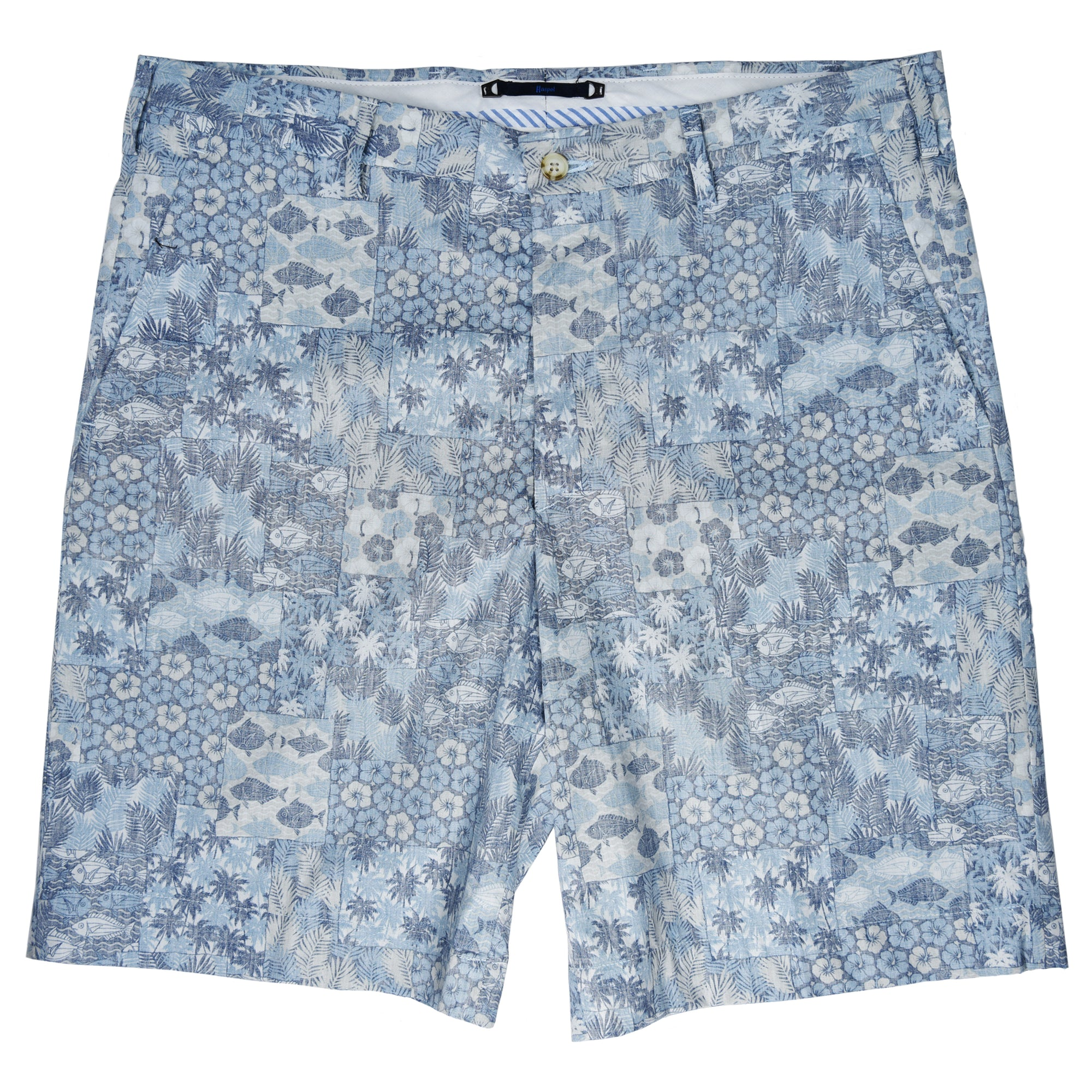 Felicity Light Blue Underwater Oasis Short