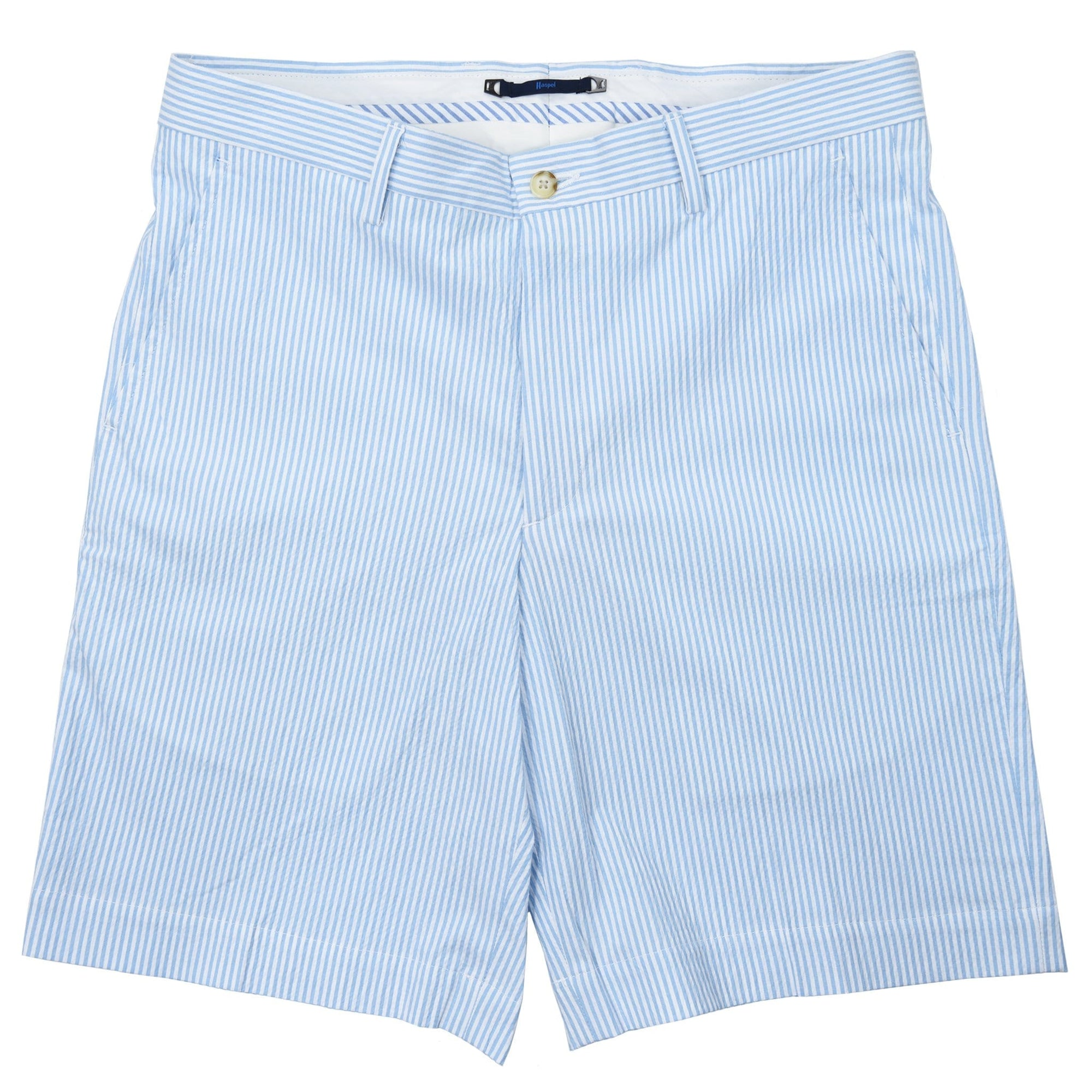 Felicity Light Blue Seersucker Short - Haspel Clothing