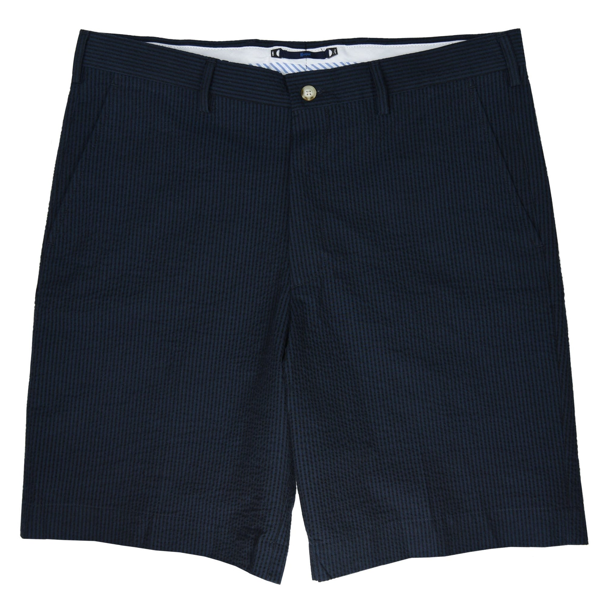 Felicity Navy Black Seersucker Short - Haspel Clothing